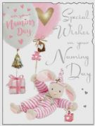 Girls Naming Day Greeting Card